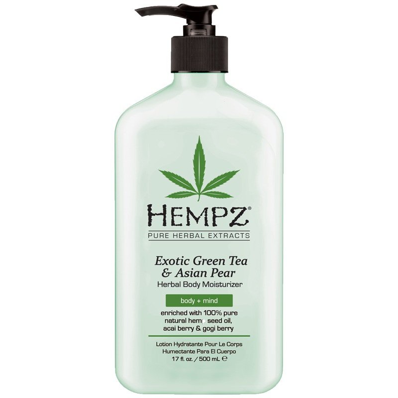 Herbal Body Moisturizer Exotic Green Tea & Asian Pear 500 ml