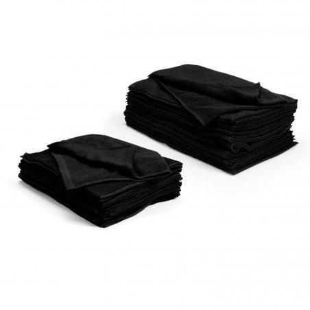 Handdukar Bleachsafe 34 x 82 cm svart