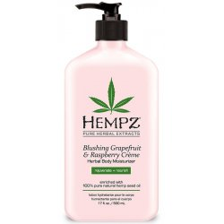 Herbal Body Moisturizer Blushing Grapefruit & Raspberry Crème