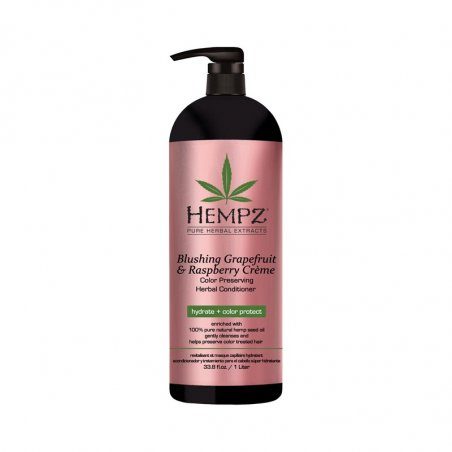 Daily Herbal Conditioner Blushing Grapefruit & Raspberry Crème, 1000 ml