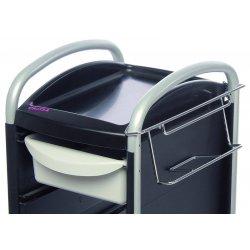 Lådhållare i krom till Piccolo 6002