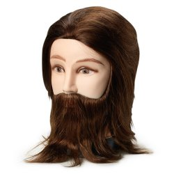 Övningshuvud Herre med skägg, 20 cm