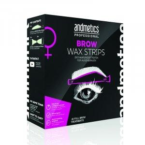 Andmetics Brow Wax Strips...